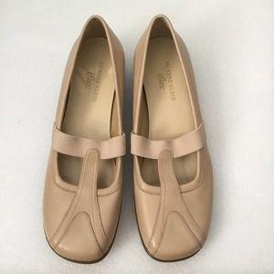 Anne Klein Beige Slip on Shoes
